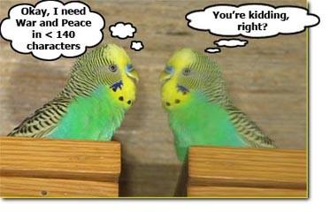Twitter Budgies!